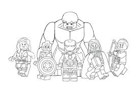 Lego Marvel Super Heroes Coloring Pages Coloring Page Libraries