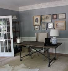 office colour design. Wall Color- Benjamin Moore Adagio - Office And Guest Bedroom Colour Design R