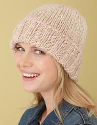 Easy Knit Hat Pattern Free Unique Ribbed Brim Hat Pattern Crochet Pinterest Easy Knitting