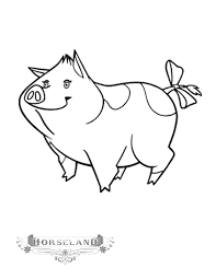 Small Picture Kids n funcom 10 coloring pages of Horseland