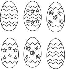 Easter Egg Printable Coloring Pages Kids Glandigoartcom