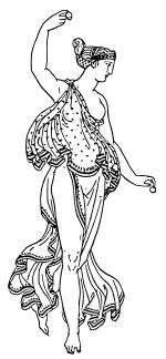 Танец Википедия Изображение танца в античной Греции