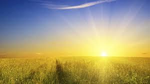 Risultati immagini per paesaggio con sole