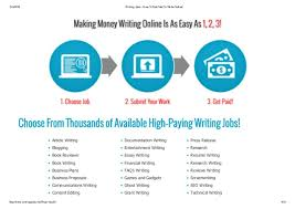 writing online jobs fom home earn per day live support 4