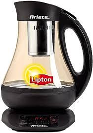 <b>Ariete Lipton</b> by <b>Ariete</b> Automatic <b>Tea</b> Maker, 1.0 Litre, 2400 Watt ...