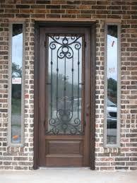 full glass wood entry doors home door wood glass front entry doors image of single wood