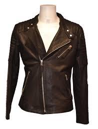 leather las coat