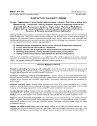 Loan Officer Resume Ideas Collection Creative Chief Consumer Lending