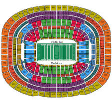 washington s fedex field seating chart
