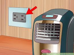 image titled install a portable air conditioner step 2
