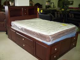 queen captain bed with drawers  doherty house  functional