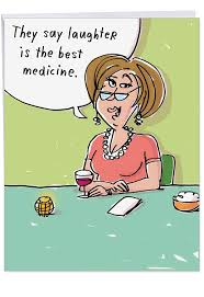 Get Well Card Big 8 5 X 11 Inch Get Well Soon Card Wine For Best Medicine Sympathy Funny Cards Hilarious Women Feel Better Greeting Card After Surgery Hospital