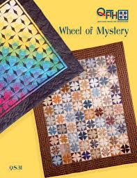 Wheel of Mystery | quilt template by Quilting from the Heartland &  Adamdwight.com