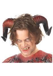 devil horns and teeth jpg