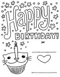 Small Picture Gift Birthday Cards Coloring Page Places to Visit Pinterest