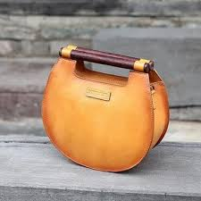 Fantasylinen Plus Brand <b>Genuine Leather Bag</b> Small Round Bags ...