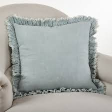 down filled throw pillows. Unique Down Ruffled Linen Down Filled Throw Pillow To Pillows