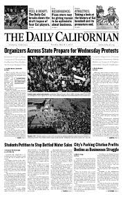 Daily Cal Tuesday March 1 2011 By The Daily Californian Issuu