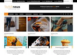 best news template for blogger stylish news blogger template oddthemes