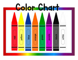 My mother (40+ years ago) would take our favorite pictures and use that red pencil to outline the design and then iron the design to our pillowcases. Free Printable Color Chart For Preschool Tpt