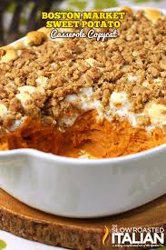 sweet potato casserole recipe.  Potato Httpwwwtheslowroasteditaliancom201311sweet With Sweet Potato Casserole Recipe
