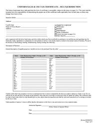 Printable Virginia Sales Tax Exemption Certificates