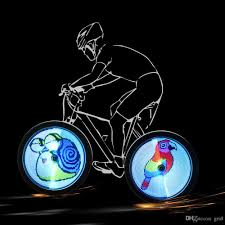 yq8003 128 led diy bicycle light programmable jpg