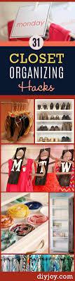 diy closet organizing tips diy closet organization ideas for messy closets and small spaces