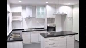 Modern Kitchen Cabinet Without Handle Midl Furniture