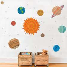 Small Picture SimpleShapes Planets Wall Sticker Wayfair