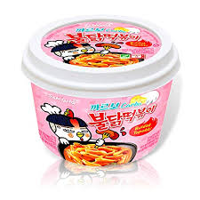 Jual Samyang Carbo Buldak Tteokbokki Korean Rice Cake Instant 8oz