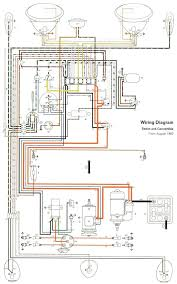 type 1 wiring diagrams pix th shoptalkforums com 1960 1961 wiring diagrams image