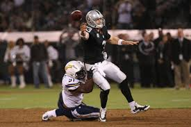 Raiders 2012 Depth Chart Charging Back San Diego Chargers At Oakland Raiders 2012