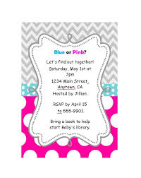 baby shower invite template word 17 free gender reveal invitation templates template lab