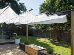 how to build an outdoor canopy