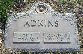 Boss Edward Adkins (1888-1945) - Find A Grave Memorial