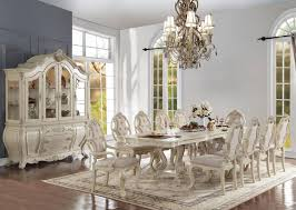 Antique White Dining Room Custom Decorating Design