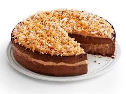 german chocolate cheesecake.  German On German Chocolate Cheesecake Food Network