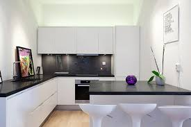 modern white and black kitchens. Ultra Modern Kitchen Design With Luxurious Black Countertop And White Cabinets A Counter Kitchens S