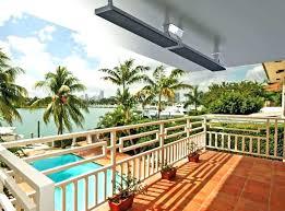 outdoor patio heaters electric watt infrared