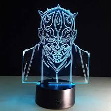 Knight Light Lamp 3d Illusion Lamp Star Wars Jedi Knight Night Light Lamp With