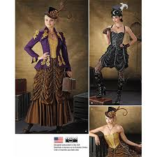 Steampunk Patterns Delectable Steampunk Jacket Bustier Skirt Patterns From CorsetMakingSupplies