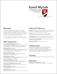 resume templates for mac pages  socialsci coresume templates for mac resume template sample graphic designer with design and software technical proficiency   resume templates