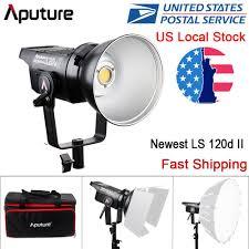 Aputure Light Storm C120d Ii Details About New Aputure Ls C120d Ii Mark2 Daylight 180w V Mount Led Light Kit Cri96 Tlci97
