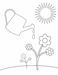 29 Springtime Coloring Sheets Spring Coloring Pages