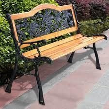seater outdoor cast iron garden benches