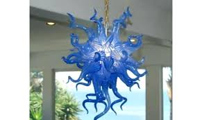 blown glass chandelier artist chandelier hand blown art glass chandelier