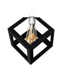 cube modern pendant ceiling lamp shade