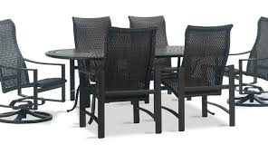 dining brown set resin round sets cubo outdoor wicker clearance patio furniture piece black chair small