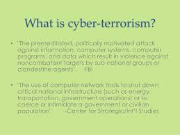 cyber terrorism cyber terrorism 2